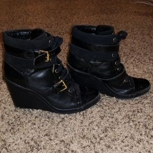 Michael Kors Skid Wedge Sneakers/Booties